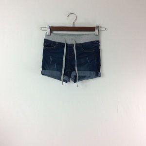 Y2 Justice Girls 10 Slim Jean Shorts